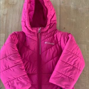Toddler Columbia winter coat
